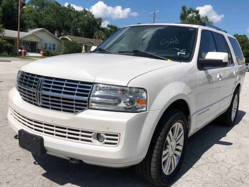 2011 Lincoln Navigator for sale at LUXURY AUTO MALL in Tampa FL