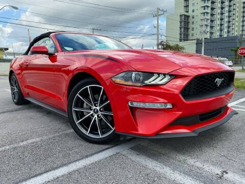 2018 Ford Mustang for sale at MIAMI AUTO LIQUIDATORS in Miami FL