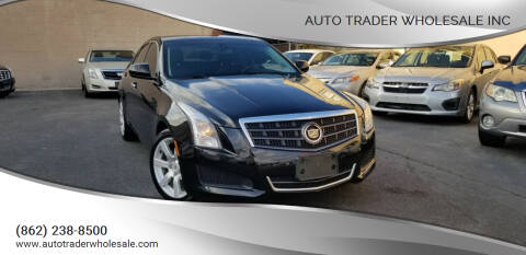 2013 Cadillac ATS for sale at Auto Trader Wholesale Inc in Saddle Brook NJ