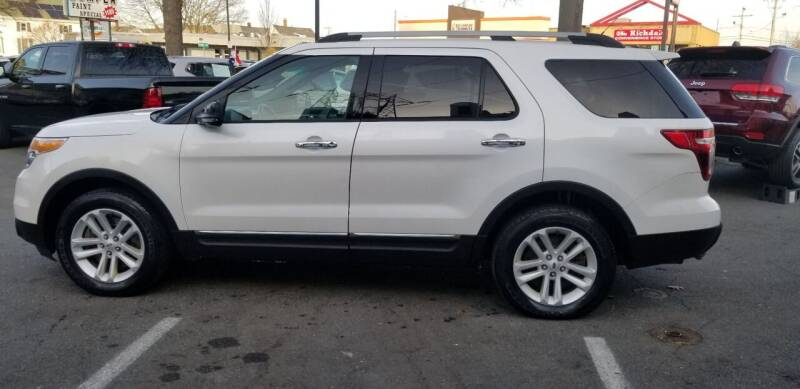2013 Ford Explorer for sale at Bridge Auto Group Corp in Salem MA