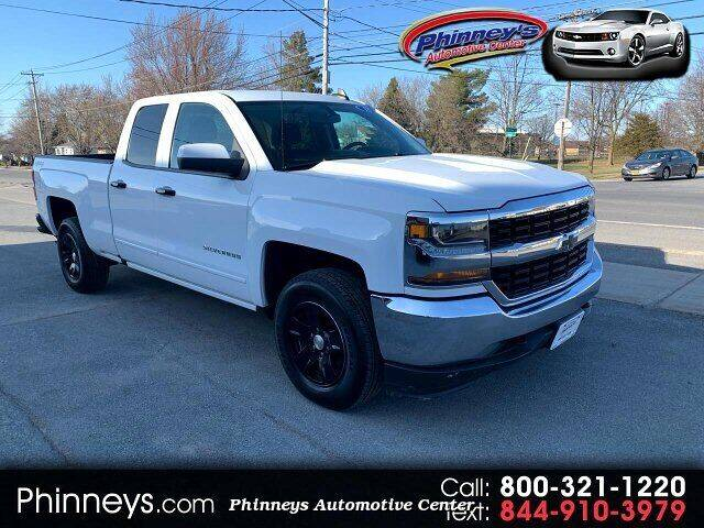 2018 Chevrolet Silverado 1500 for sale at Phinney's Automotive Center in Clayton NY