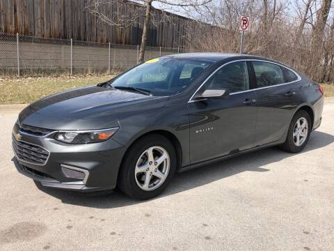 2018 Chevrolet Malibu for sale at Posen Motors in Posen IL
