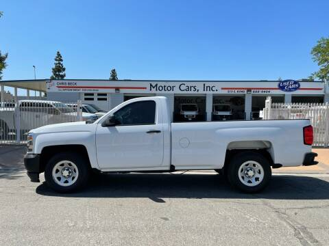 2016 Chevrolet Silverado 1500 for sale at MOTOR CARS INC in Tulare CA