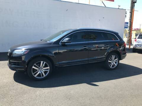 2010 Audi Q7 for sale at Shoppe Auto Plus in Westminster CA