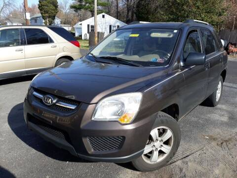 2009 Kia Sportage for sale at GALANTE AUTO SALES LLC in Aston PA