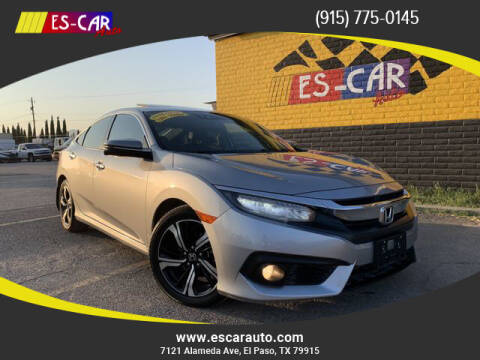 2016 Honda Civic for sale at Escar Auto - 9809 Montana Ave Lot in El Paso TX