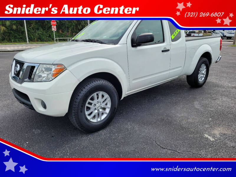 2016 Nissan Frontier for sale at Snider's Auto Center in Titusville FL