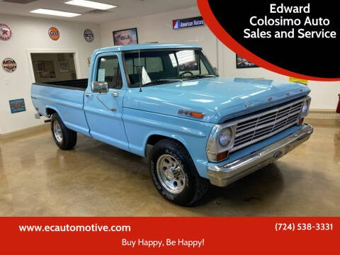 1969 Ford F-250 for sale at Edward Colosimo Auto Sales and Service in Evans City PA