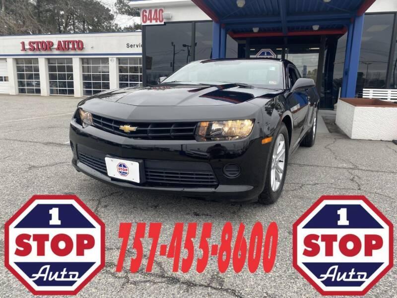 2014 Chevrolet Camaro for sale at 1 Stop Auto in Norfolk VA