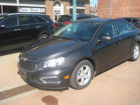 2016 Chevrolet Cruze Limited for sale at Theis Motor Company in Reading OH