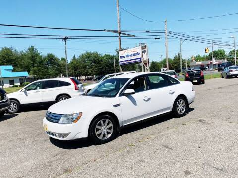 2008 Ford Taurus for sale at New Wave Auto of Vineland in Vineland NJ