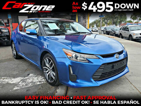 2014 Scion tC for sale at Carzone Automall in South Gate CA