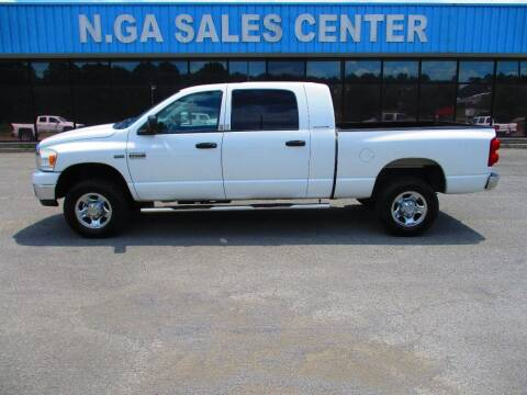 2007 Dodge Ram Pickup 2500 for sale at NORTH GEORGIA Sales Center in La Fayette GA