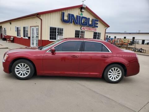 """2014 Chrysler 300 for sale at UNIQUE AUTOMOTIVE """"BE UNIQUE"""" in Garden City KS"""