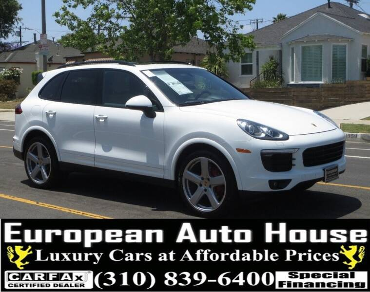 2017 Porsche Cayenne for sale at European Auto House in Los Angeles CA