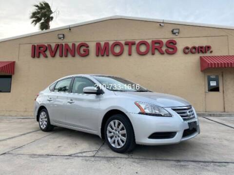 2015 Nissan Sentra for sale at Irving Motors Corp in San Antonio TX