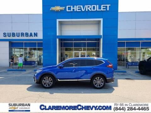 2021 Honda CR-V for sale at Suburban Chevrolet in Claremore OK
