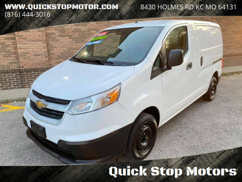 2015 Chevrolet City Express Cargo for sale at Quick Stop Motors in Kansas City MO
