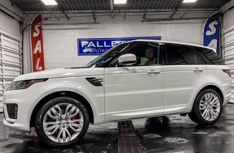 2018 Land Rover Range Rover Sport for sale at Falleti Motors, Inc.  est. 1976 in Batavia NY