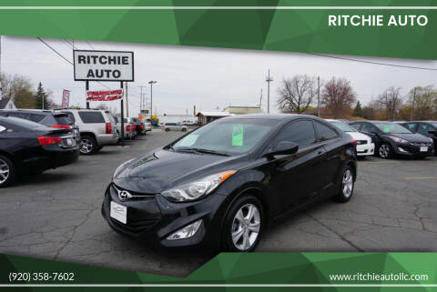 2013 Hyundai Elantra Coupe for sale at Ritchie Auto in Appleton WI