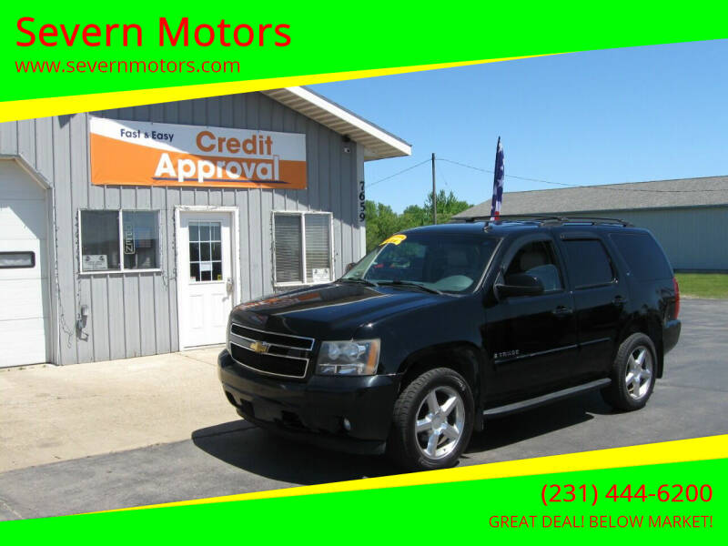 2007 Chevrolet Tahoe for sale at Severn Motors in Cadillac MI