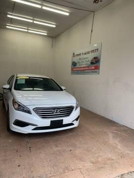 2017 Hyundai Sonata for sale at Antonio's Auto Sales - Antonio`s  3001 in Pasadena TX