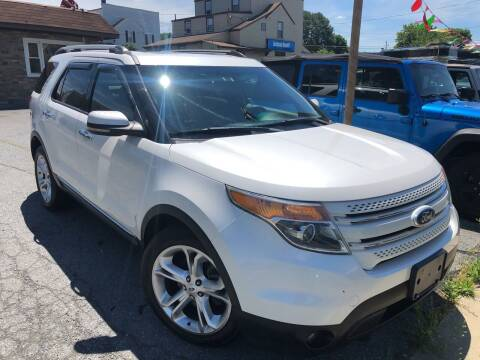 2012 Ford Explorer for sale at Berk Motor Co in Whitehall PA