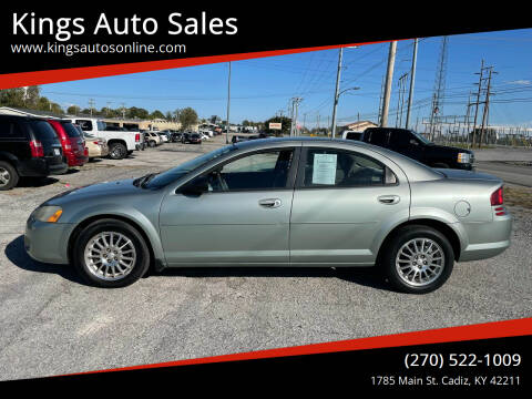2006 Dodge Stratus for sale at Kings Auto Sales in Cadiz KY