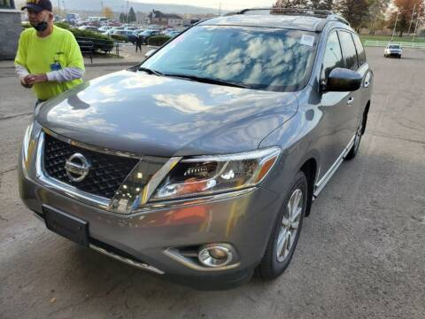 2016 Nissan Pathfinder for sale at Franklyn Auto Sales in Cohoes NY