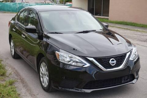 2019 Nissan Sentra for sale at SUPER DEAL MOTORS 441 in Hollywood FL