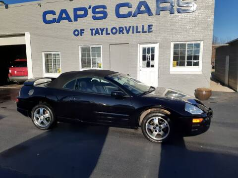 2004 Mitsubishi Eclipse Spyder for sale at Caps Cars Of Taylorville in Taylorville IL