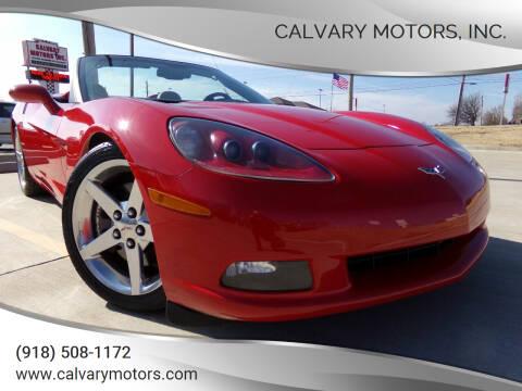 2005 Chevrolet Corvette for sale at Calvary Motors, Inc. in Bixby OK