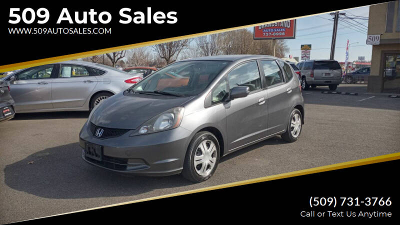 2012 Honda Fit for sale at 509 Auto Sales in Kennewick WA