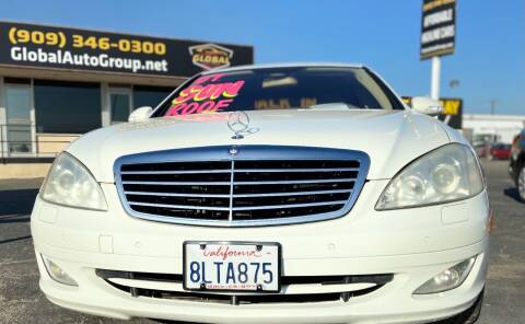 2007 Mercedes-Benz S-Class for sale at Global Auto Group in Fontana CA