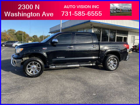 2012 Toyota Tundra for sale at Auto Vision Inc. in Brownsville TN