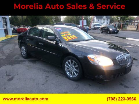 2009 Buick Lucerne for sale at Morelia Auto Sales & Service in Maywood IL