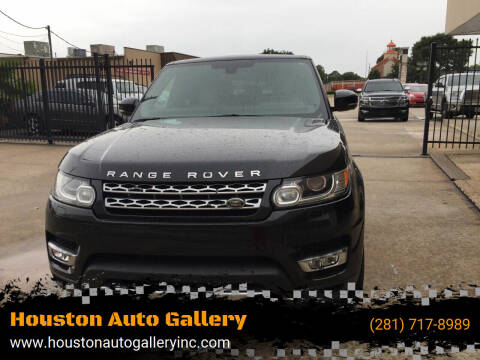 2014 Land Rover Range Rover Sport for sale at Houston Auto Gallery in Katy TX
