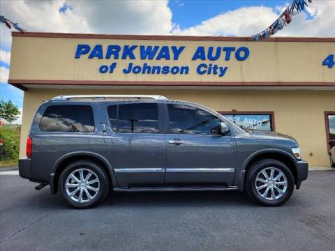 2010 Infiniti QX56 for sale at PARKWAY AUTO SALES OF BRISTOL - PARKWAY AUTO JOHNSON CITY in Johnson City TN