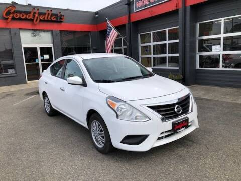 2018 Nissan Versa for sale at Goodfella's  Motor Company in Tacoma WA