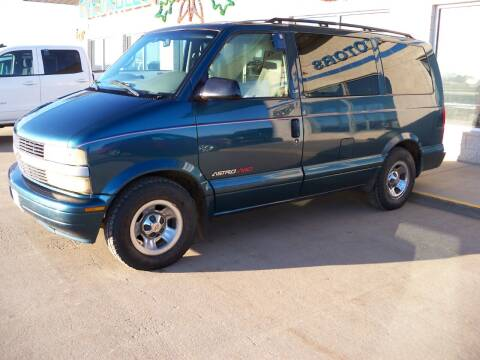 2002 Chevrolet Astro for sale at Tyndall Motors in Tyndall SD