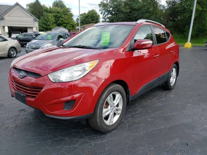 2012 Hyundai Tucson for sale at STRUTHER'S AUTO MALL in Austintown OH