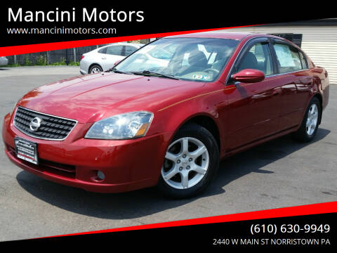 2006 Nissan Altima for sale at Mancini Motors in Norristown PA