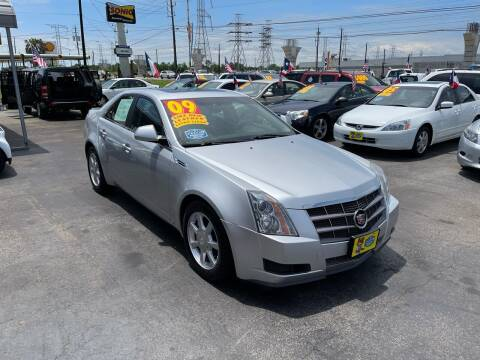 2009 Cadillac CTS for sale at Texas 1 Auto Finance in Kemah TX