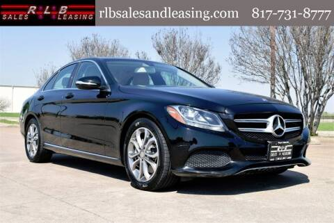 2015 Mercedes-Benz C-Class for sale at RLB Sales and Leasing in Fort Worth TX