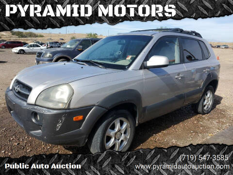 2005 Hyundai Tucson for sale at PYRAMID MOTORS - Pueblo Lot in Pueblo CO