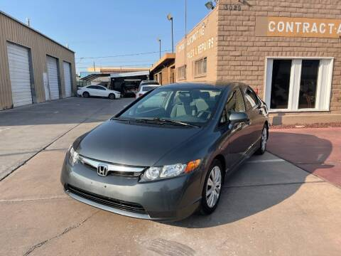 2009 Honda Civic for sale at CONTRACT AUTOMOTIVE in Las Vegas NV