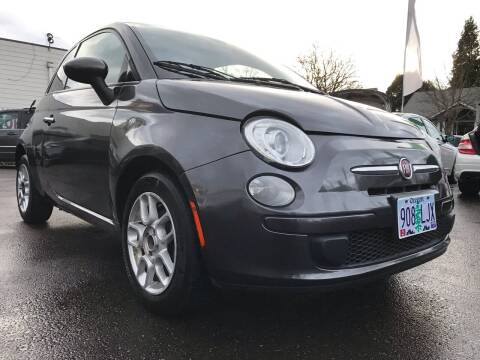 2015 FIAT 500 for sale at Salem Auto Market in Salem OR