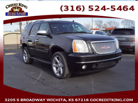 2012 GMC Yukon for sale at Credit King Auto Sales in Wichita KS