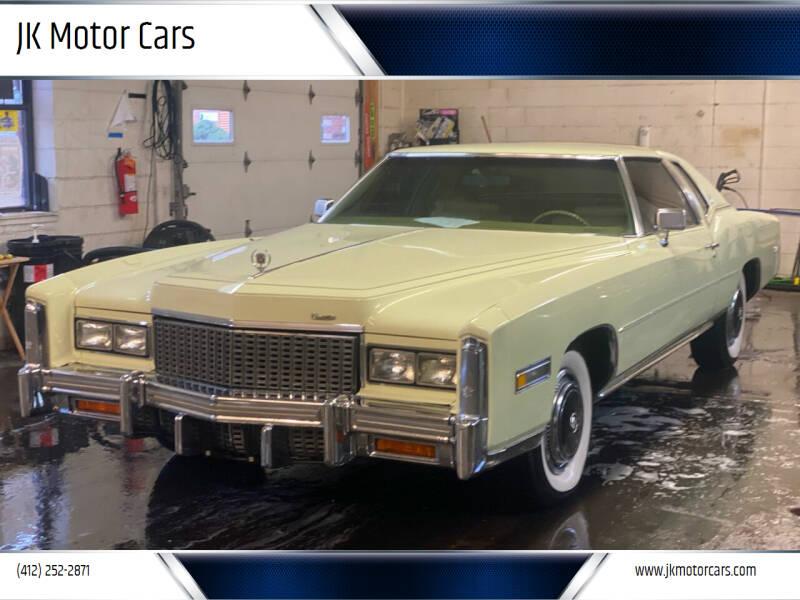 1976 Cadillac Eldorado for sale at JK Motor Cars in Pittsburgh PA