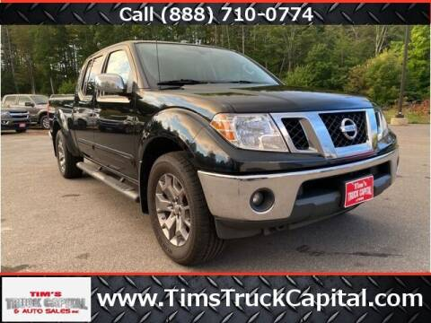 2016 Nissan Frontier for sale at TTC AUTO OUTLET/TIM'S TRUCK CAPITAL & AUTO SALES INC ANNEX in Epsom NH